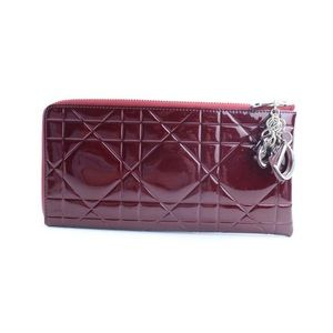 Christian Dior - Quilted Cannage Zip Clutch